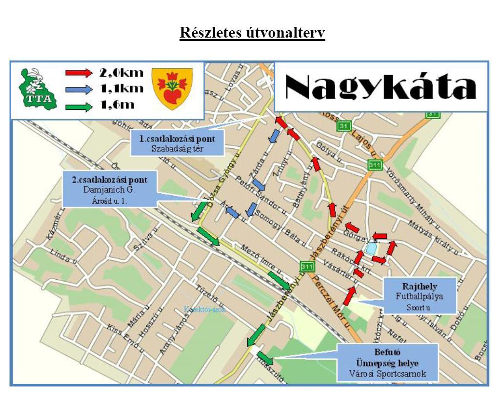 nagykáta térkép Összefogás a Tápió vidékért   Nagykáta Város Honlapja